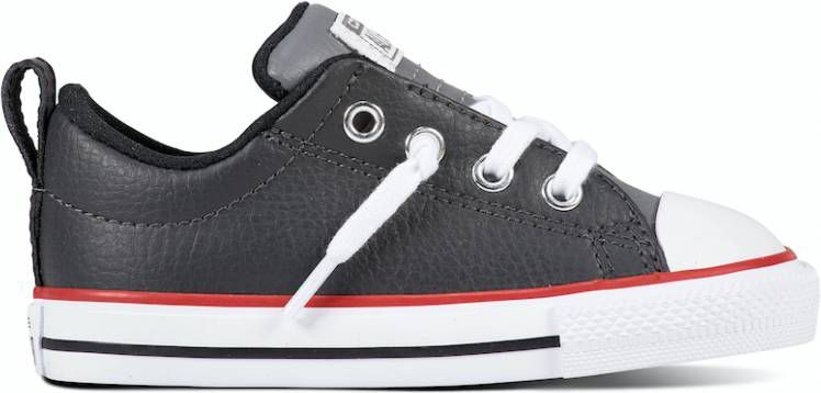 Converse All Stars Leather 761975C Zwart-26 maat 26 ...
